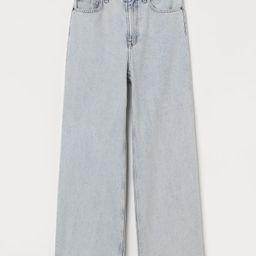 Loose Wide High Jeans | H&M (UK, IE, MY, IN, SG, PH, TW, HK, KR)
