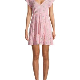 No Boundaries Juniors' Babydoll Dress | Walmart (US)