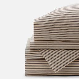 Ticking Stripe Sheet Sets | Red Land Cotton
