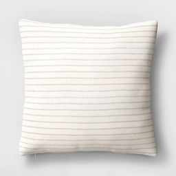 Square Striped Throw Pillow - Threshold™   Target