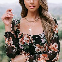 Finley Floral Top | Amaryllis Apparel