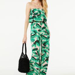 Scoop Women's Printed Strapless Jumpsuit   Walmart (US)