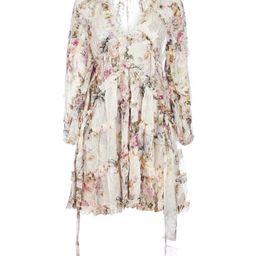 Zimmermann Brighton Frill Billow Dress | Cettire Global