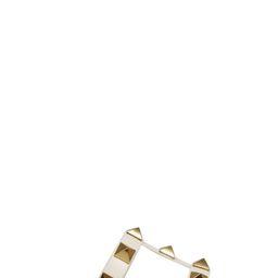 Valentino Garavani Roman Stud Flat Sandals | Cettire Global