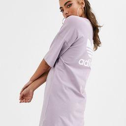 adidas Originals t-shirt dress in lilac-Purple | ASOS (Global)