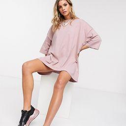 Puma t-shirt dress in rose - exclusive to ASOS-Pink | ASOS (Global)