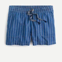Seaside short in indigo stripe | J.Crew US