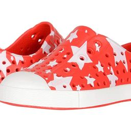 Native Kids Shoes Jefferson Stars and Stripes Print (Toddler/Little Kid) (Torch Red/Shell White/Mult   Zappos