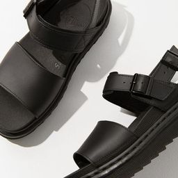 Dr. Martens Voss Black Leather Sandal | Urban Outfitters (US and RoW)