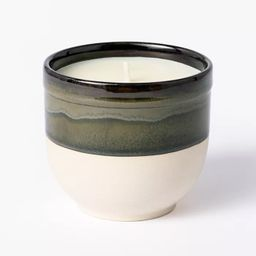 Citornella Ceramic Clay 1 Wick Candle Glossy Gray - Threshold™ designed with Studio McGee | Target
