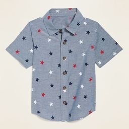 Printed Oxford Shirt for Toddler Boys   Old Navy (US)