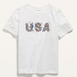"""Unisex Matching Graphic """"""""USA"""""""" Tee for Toddler   Old Navy (US)"""