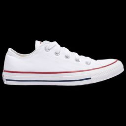 Converse Boys Converse All Star Low Top - Boys' Grade School Basketball Shoes Optical White/Navy Siz   Foot Locker (US)