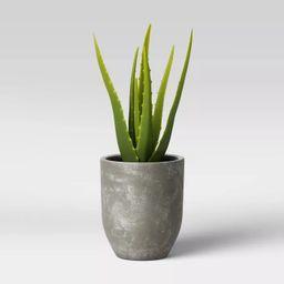 Faux Aloe in Pot Gray/Green - Project 62™ | Target