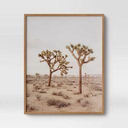 "24"" x 30"" Joshua Tree Framed Print - Threshold™ | Target"