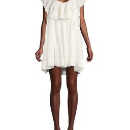 Hailey Ruffled Mini Dress | Saks Fifth Avenue OFF 5TH