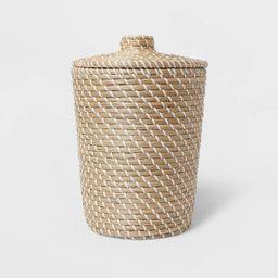 Solid Bathroom Wastebasket Tan - Opalhouse™   Target