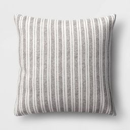 Oversized Square Striped Throw Pillow - Threshold™   Target