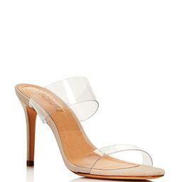 Women's Ariella Clear Strap High-Heel Slide Sandals | Bloomingdale's (US)
