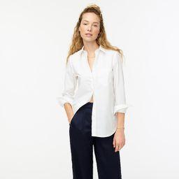 Classic-fit crisp cotton poplin shirt   J.Crew US
