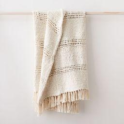 Cozy Weave Throw   West Elm (US)