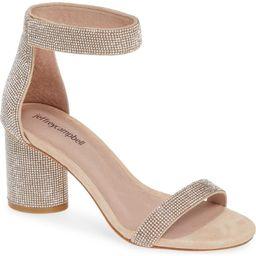 Laura Crystal Embellished Ankle Strap Sandal   Nordstrom
