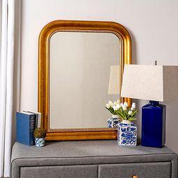 Mason Wall Mirror, Antiqued Gold | One Kings Lane