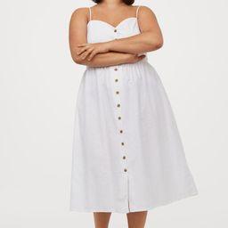 H&M+ Linen-blend Dress | H&M (US)