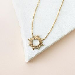 Sunseeker Gold Necklace   Wanderlust + Co