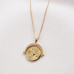 Universe Gold Necklace | Wanderlust + Co