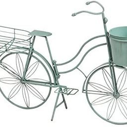 Cape Craftsmen Shabby-Chic Vintage Teal Bicycle Planter Outdoor Safe Décor for The Chic Home or ... | Amazon (US)