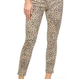 JEN7 Leopard Print Ankle Skinny Jeans | Nordstrom | Nordstrom