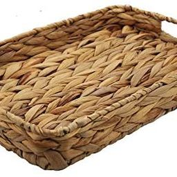 HDKJ Grass Weaving Tray, Grass Storage Bins for Fruit or Tea,Arts and Crafts. (1) (Tray-A-S) | Amazon (US)