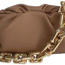 alilove Cloud Bag Dumpling Shoulder Bag Chunky Chain Pouch Bag | Amazon (US)