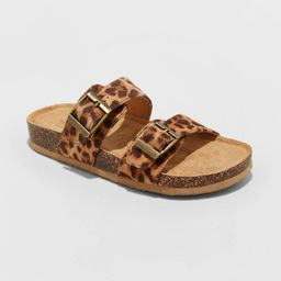 Girls' Mad Love Scarlett Slip-On Footbed Sandals - | Target