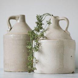 Assorted Antique White Stoneware Whiskey Jugs  Modern | Etsy | Etsy (US)