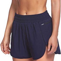 LaLaLa Womens Workout Shorts with Zip Pocket Quick-Dry Athletic Shorts Sports Elastic Waist Runni... | Amazon (US)