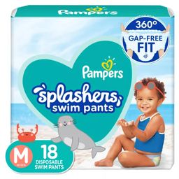 Pampers Splashers Disposable Swim Pants - (Select Size and Count)   Target