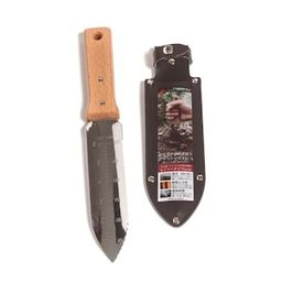 Nisaku 7.25 in. Japanese Hori Garden Landscaping Digging Tool with Stainless Steel Blade and Shea... | The Home Depot