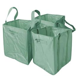 Martha Stewart Living 48 Gal. Multi-Purpose Re-Usable Heavy-Duty Garden Leaf and Debris Bag with ...   The Home Depot
