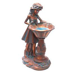 Solar Garden Girl Statue | Garden Decor for Sale | Breck's | Brecks