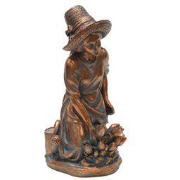 Buy Gardening Woman Statue   Garden Decor for Sale   Breck's   Brecks