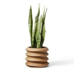 Coiled Stoneware Planter Natural - Hilton Carter for Target | Target