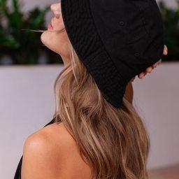 Ursa Black Bucket Hat   Shop Priceless