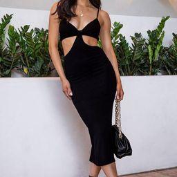 Nobody Else Black Maxi Dress   Shop Priceless