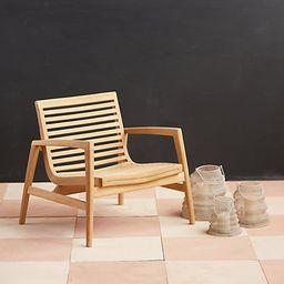 Mesa Teak Chair | Terrain