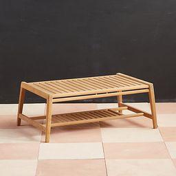 Mesa Teak Coffee Table | Terrain