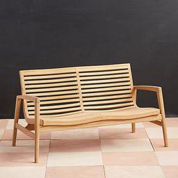 Mesa Teak Two Seat Sofa | Terrain
