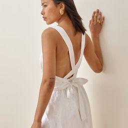 Elara Linen Dress   Reformation