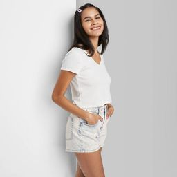 Women's High-Rise Mom Jean Shorts - Wild Fable™ | Target